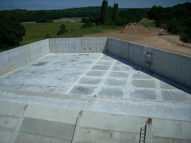 Réfections de cuves de retention d'hydrocarbures sur le site de stockage SFDM de la Ferté Alais (77)