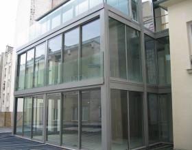 Reconstruction et extension d'un immeuble 8 logements et commerce rue de Saint Sébastien à Paris
