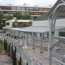 Aménagement d'une centre commercial à la Celle Saint-Cloud
