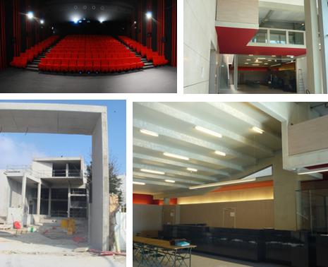 Construction du cinema le Rex à Nogent le Rotrou (9)  Techne