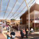 Centre commercial à Fleury sur Orne (14)