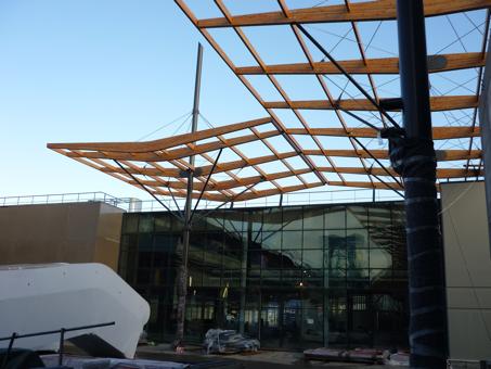 Centre commercial à Bry sur Marne (94)