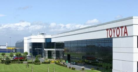Construction de l'usine Toyota à Onnaing