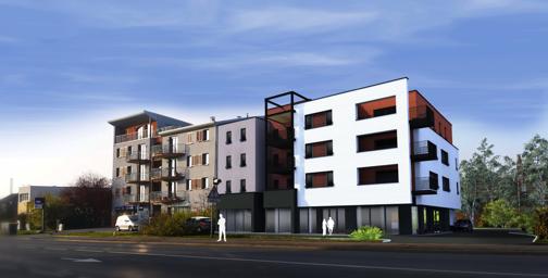 Construction d'un immeuble de 13 logements et 2 commerces à Florange (57)