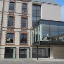 Rénovation d'un ancien collège en médiathèque et école de musique à Sézanne