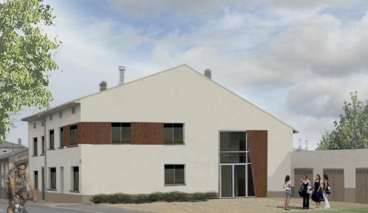 Création d'un espace multi-accueil à Metzeresche