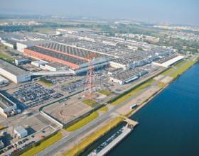 Extension de l'usine Renault à Sandouville