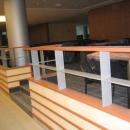 Immeuble de bureaux Aviva / Europe avenue à Bois Colombe serrurerie décorative